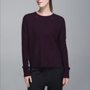Lululemon Seva Merino Wool Sweater